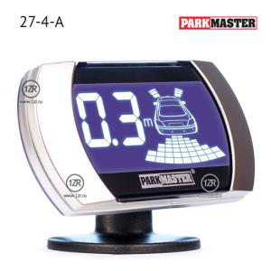 Парктроник ParkMaster 27-4-A (серебристые датчики)